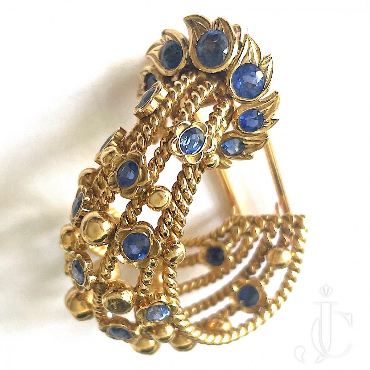 Cartier Clip Brooch