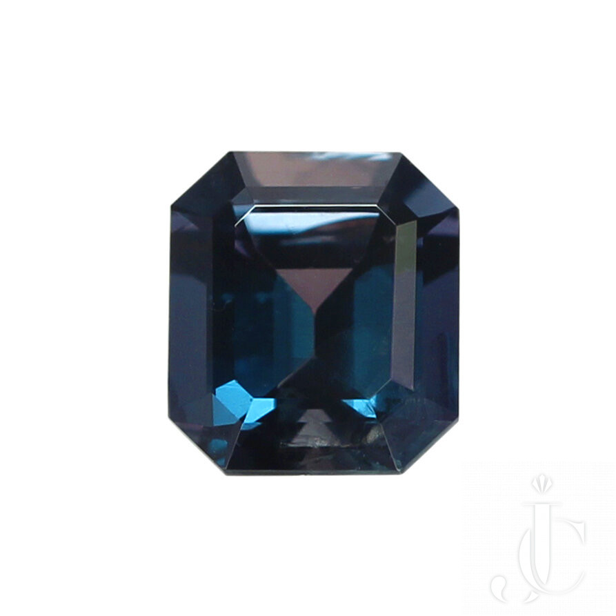 1.92 Carat Genuine and Natural Rectangular Step-Cut Brazilian Alexandrite