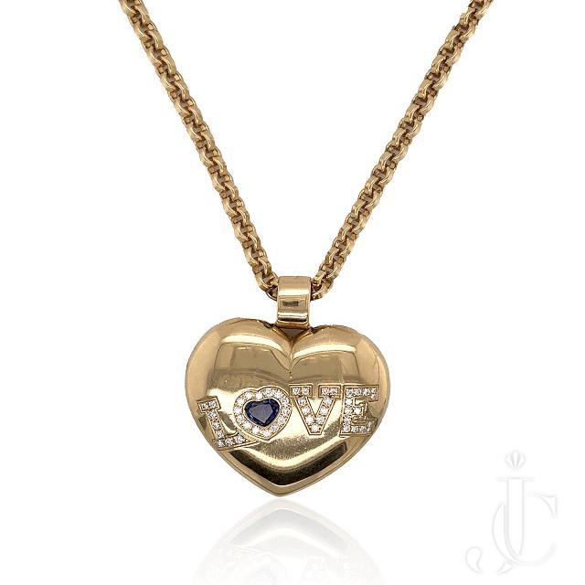 Chopard Diamond Heart Pendant