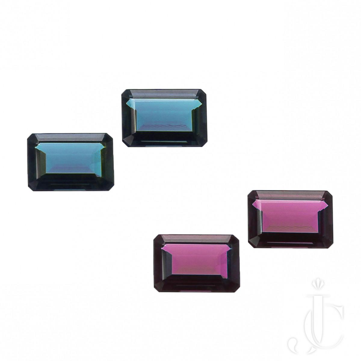 Rare 6.51 carat perfect pair of Brazil Alexandrites( AGL , SSEF)