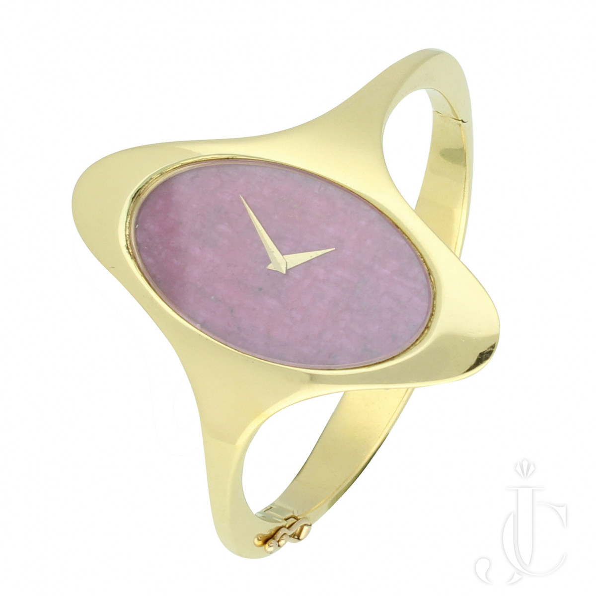 Chopard Bangle Watch with Heart of Ruby Dial