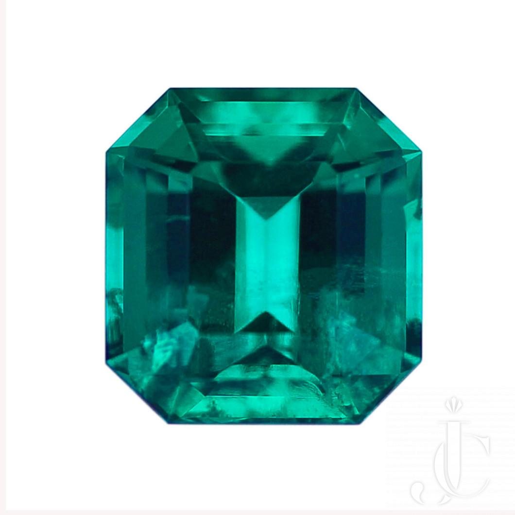 5.95 carat NO OIL Columbian Emerald - AGL, SSEF, GUBELIN