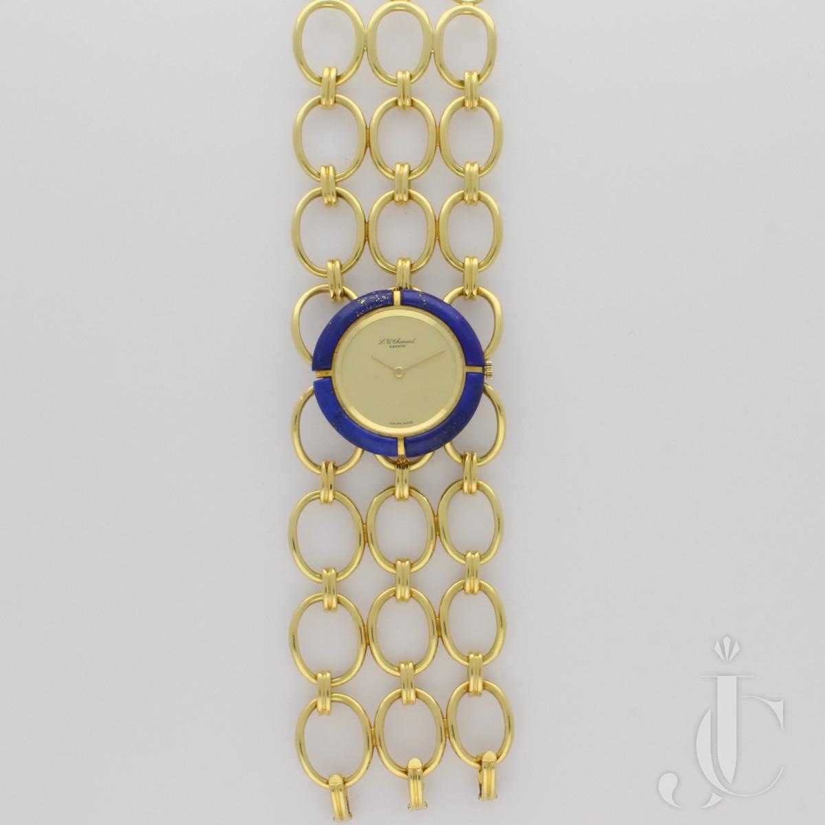Chopard Bracelet Watch with Lapis Lazuli Bezel