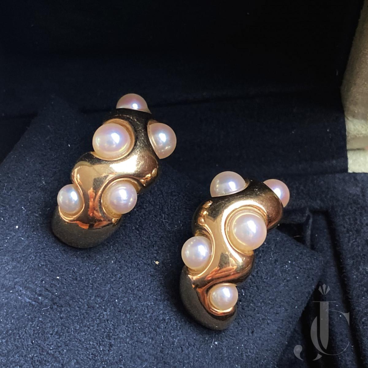 Van Cleef and Arpels ear clips