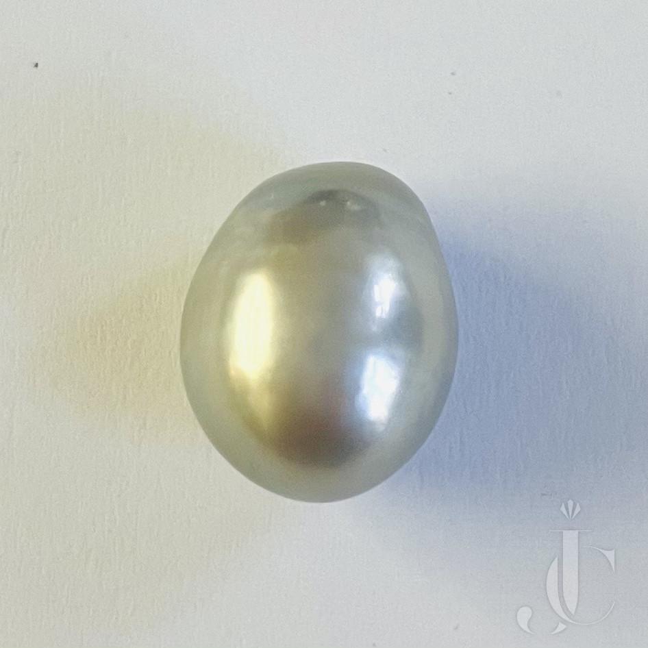 15,14 ct Drop shaped natural Pearl