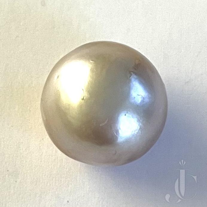 19,55 ct natural Pearl Bouton