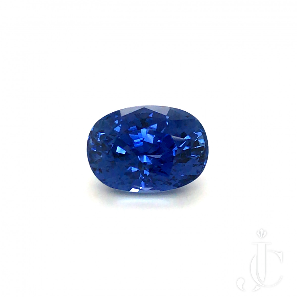 Natural oval Ceylon Sapphire 12.88ct blue with GRS lab report