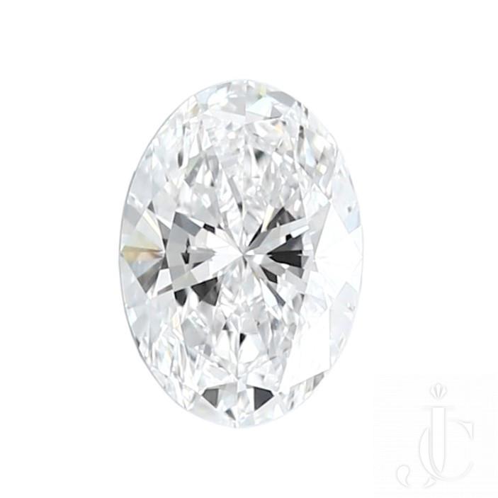 1.07 Carat GIA Certified D-VVS1 Oval Brilliant Cut Diamond
