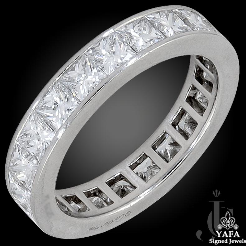 Cartier Diamond Eternity Band Ring