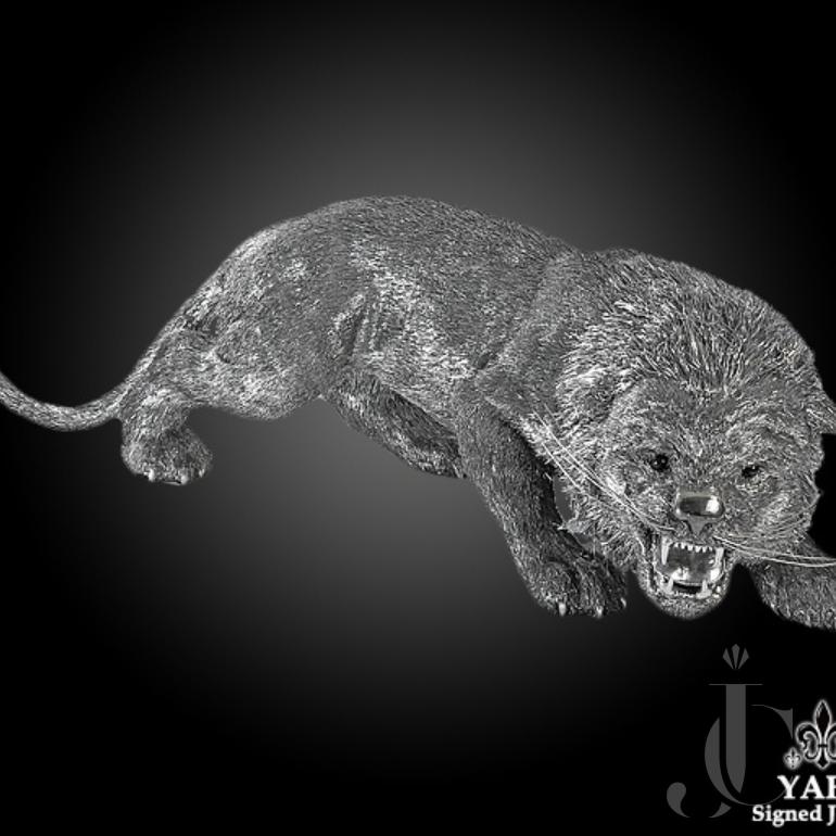 Buccellati Silver Furry Lion