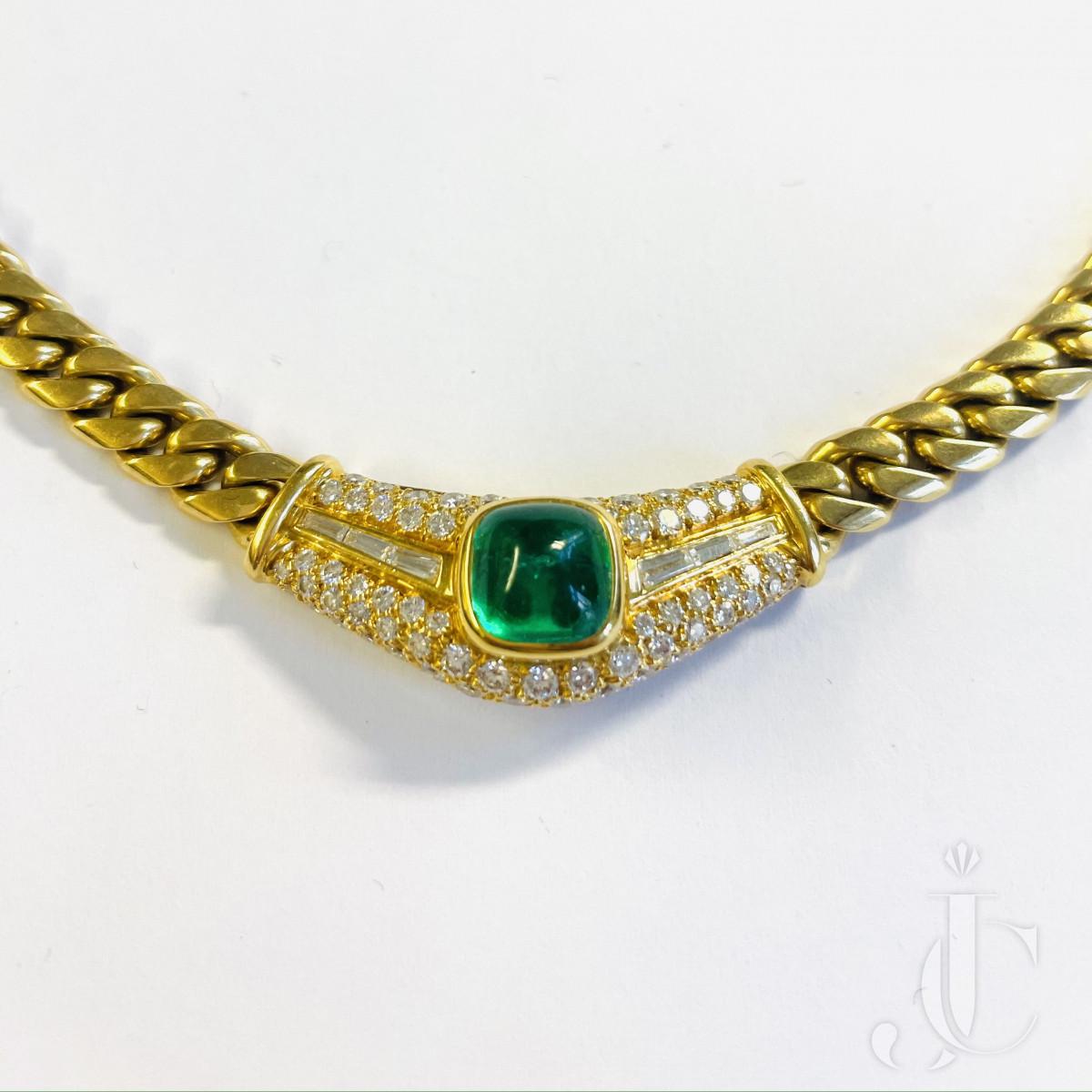 Bulgari Emerald Collier
