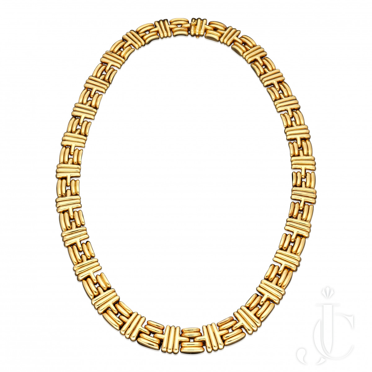 Bulgari -Vintage  18ct yg 162grams necklace