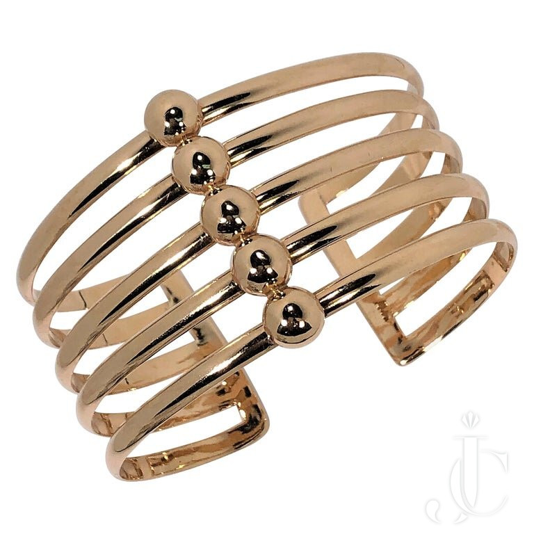 RETRO ROSE GOLD Cuff
