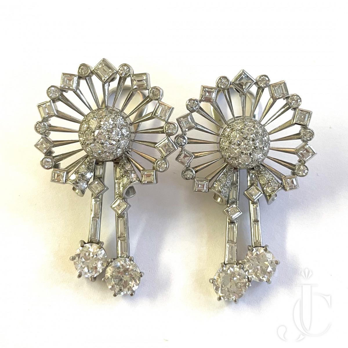 Diamond Ear clips