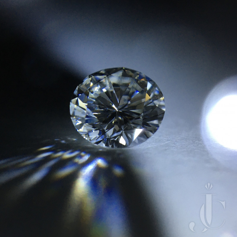 0.80 carat Round Brilliant Diamond i1 O-P