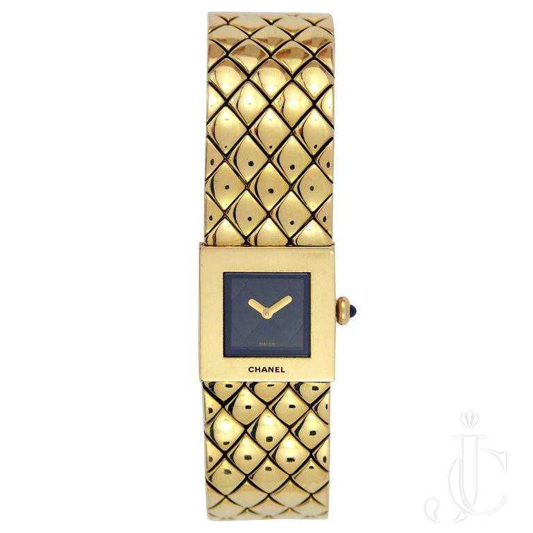 CHANEL LADIES YELLOW GOLD BRACELET Watch