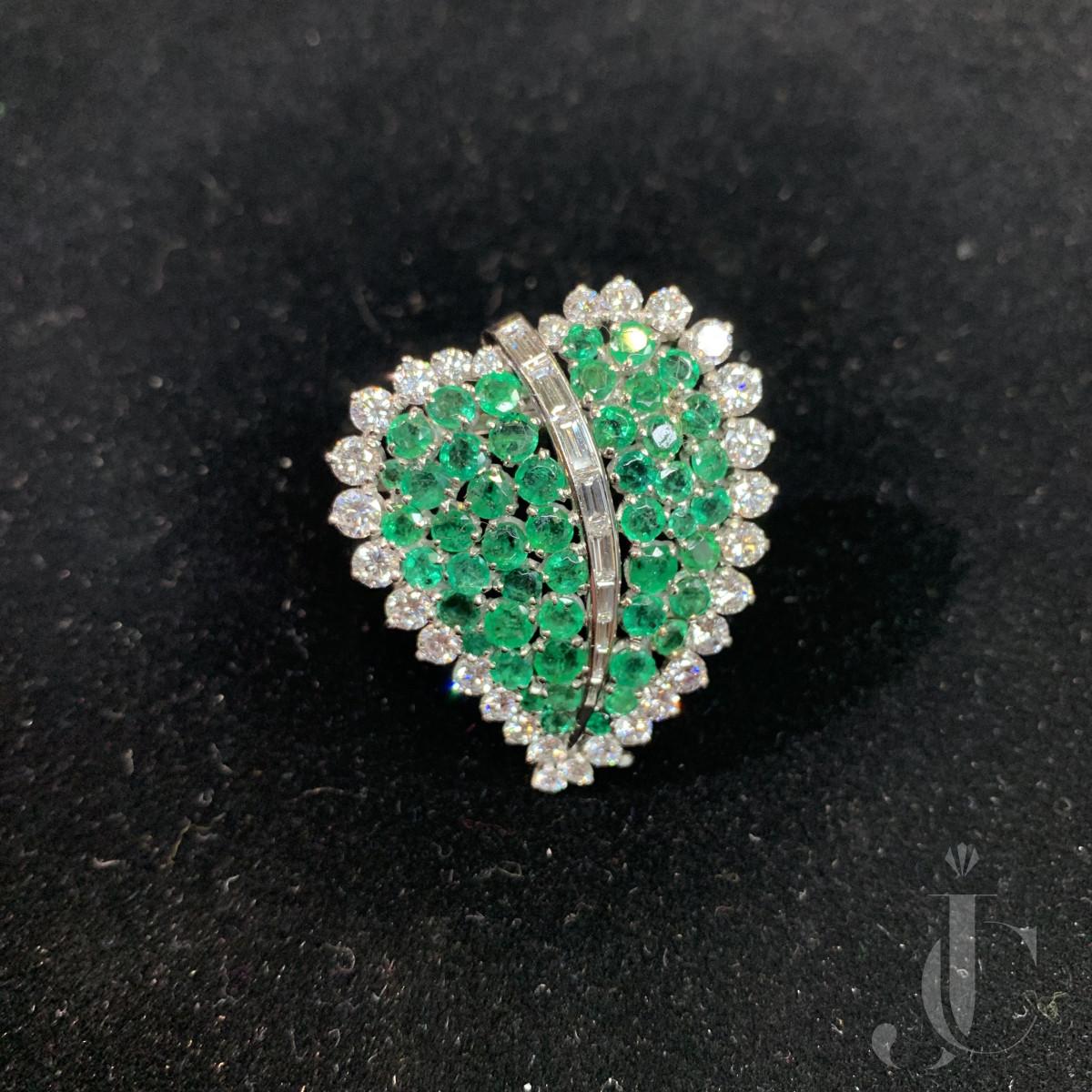 Emerald Diamond Heart