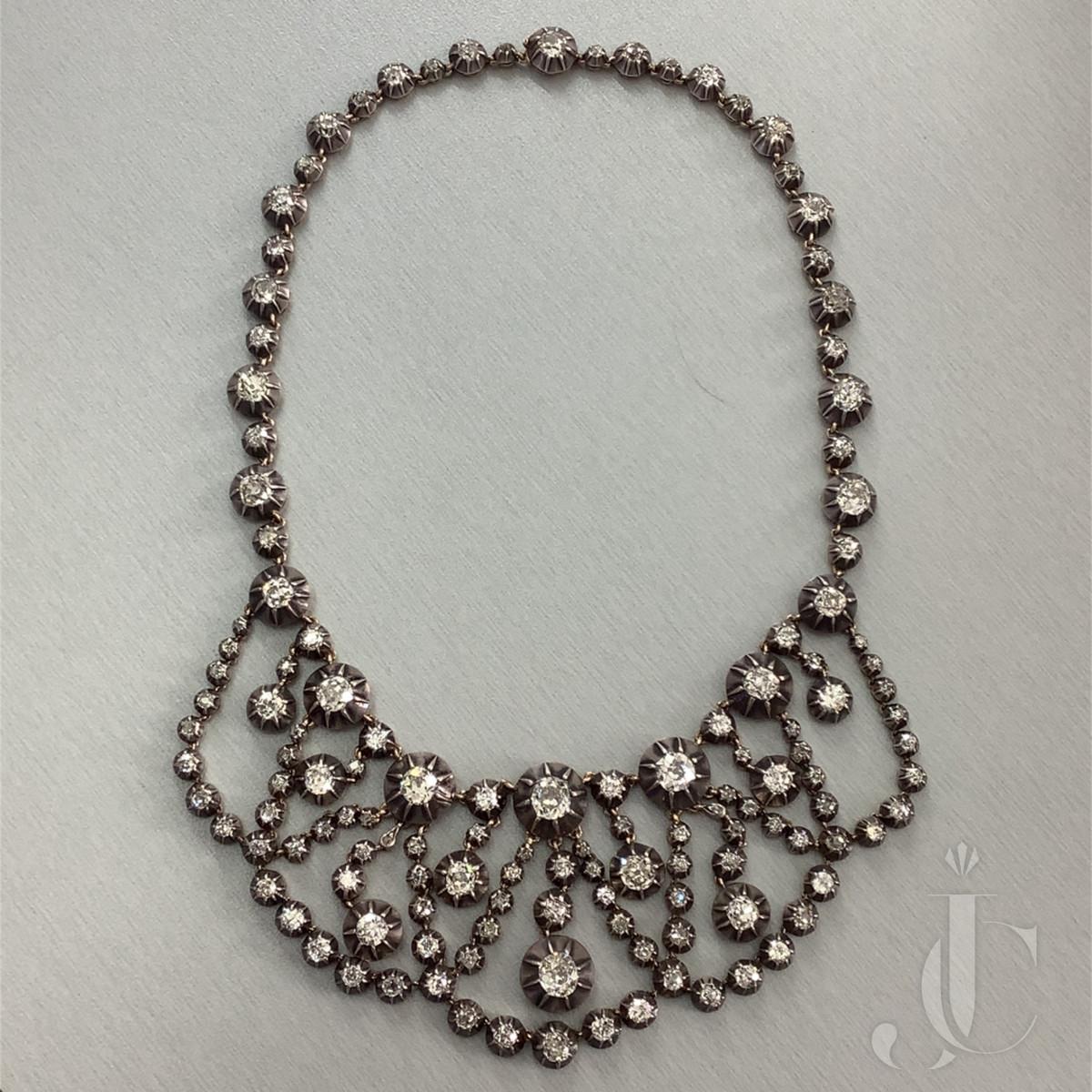 Georgian Diamond Necklace
