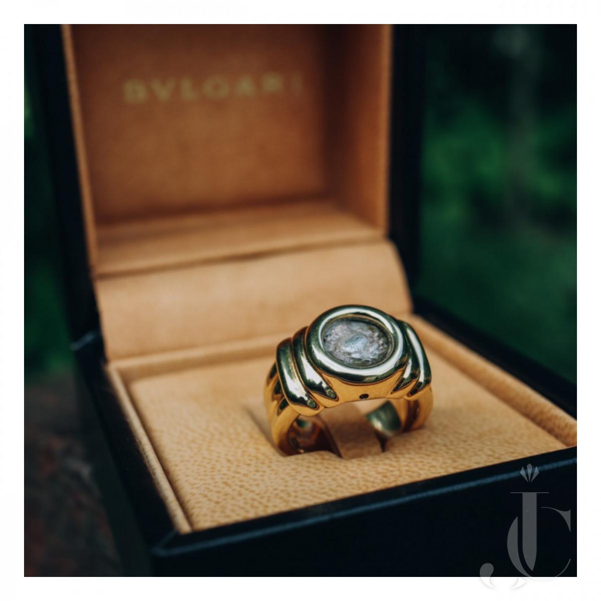 BULGARI moneta ring
