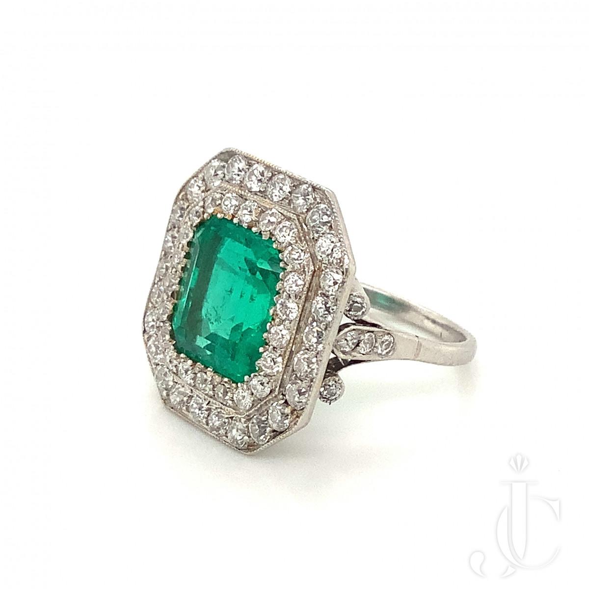 Spaulding Emerald Ring
