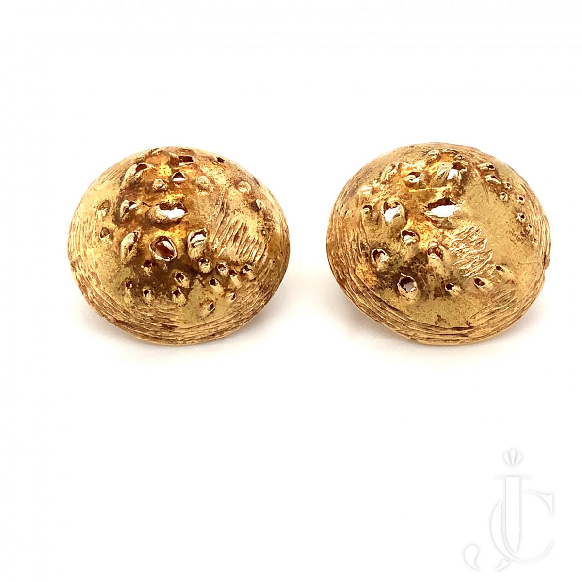 Gilbert Albert Gold Earrings