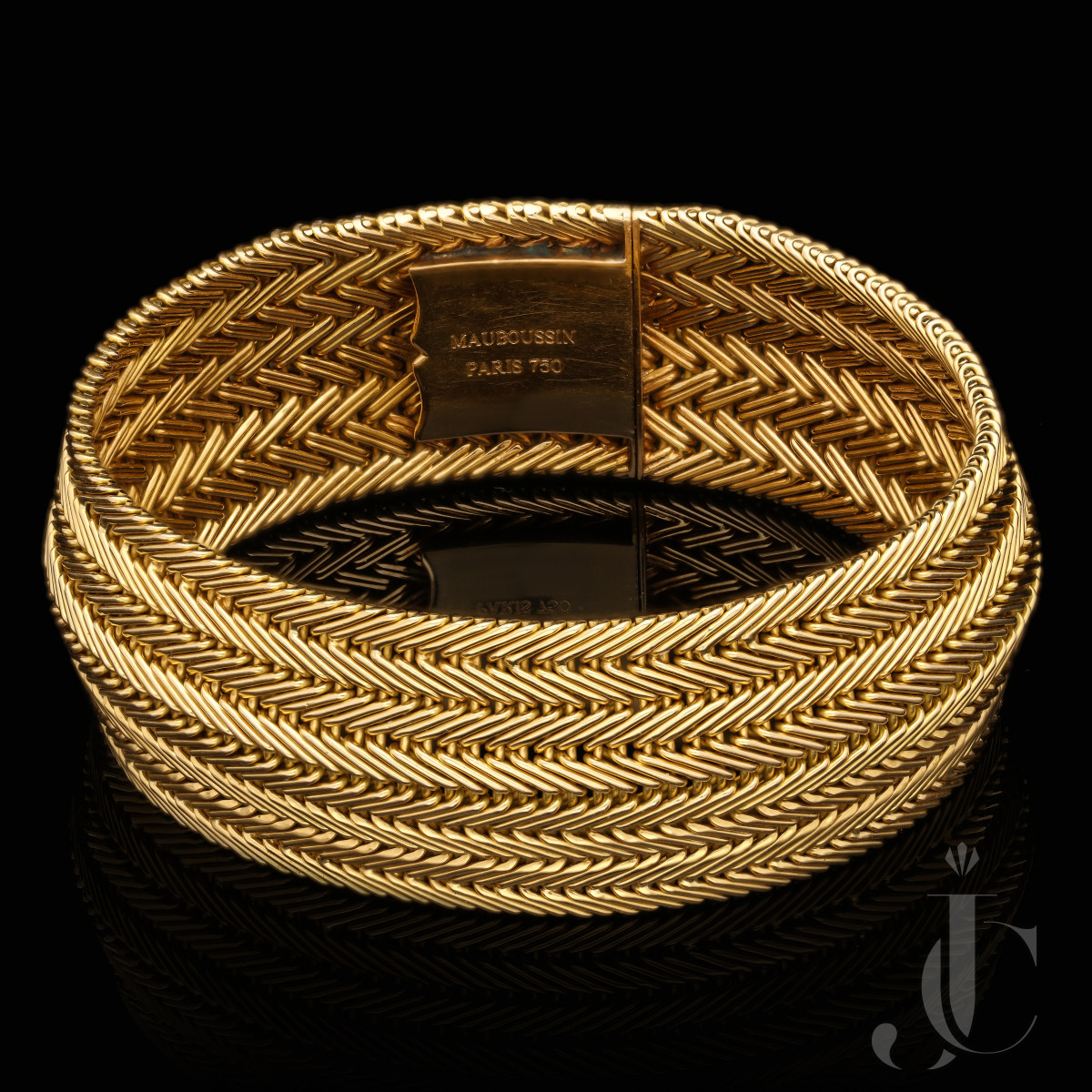 Mauboussin - French Vintage Gold Bracelet 1957
