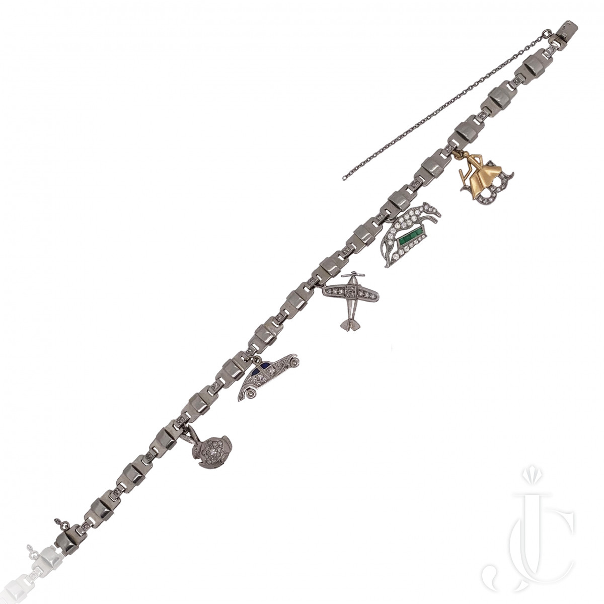 VCA Deco Charm Bracelet