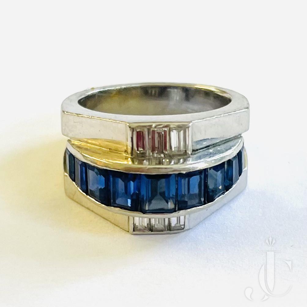Mauboussin Sapphire Diamond Ring