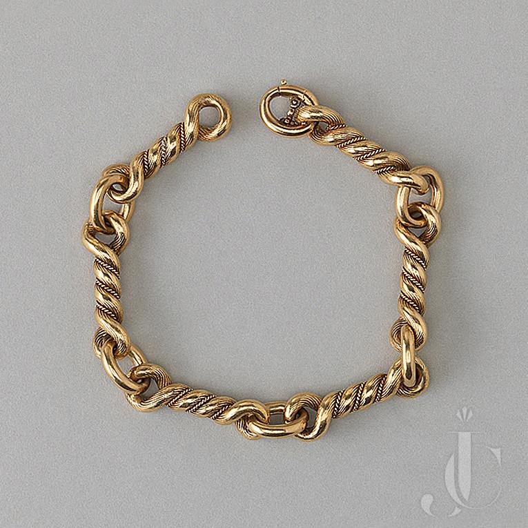 Hermes knot bracelet