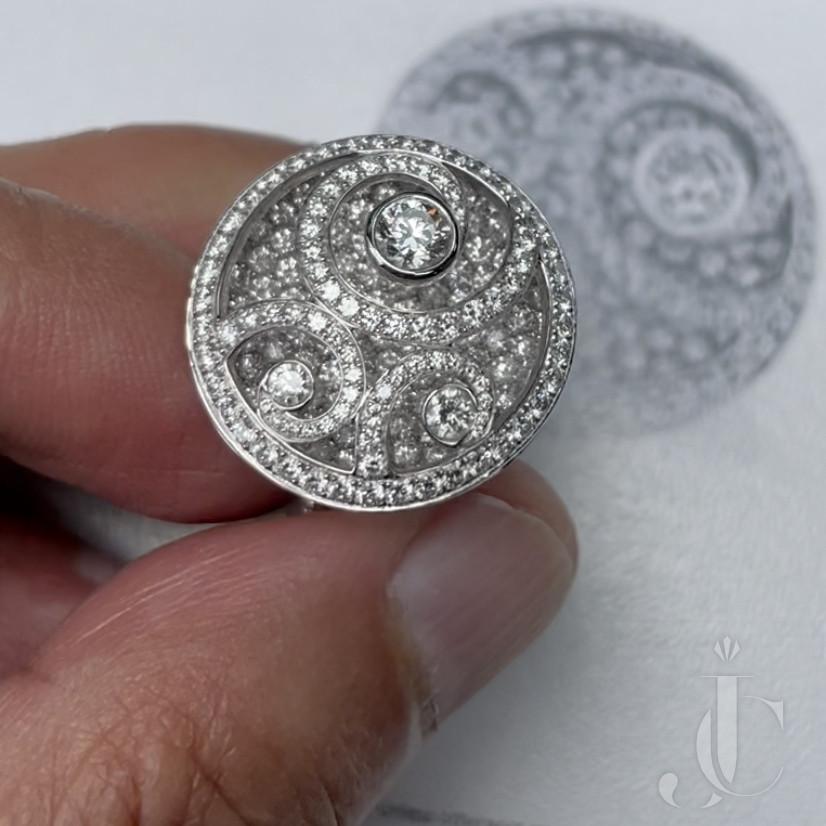GRAFF diamond on Diamond Ring