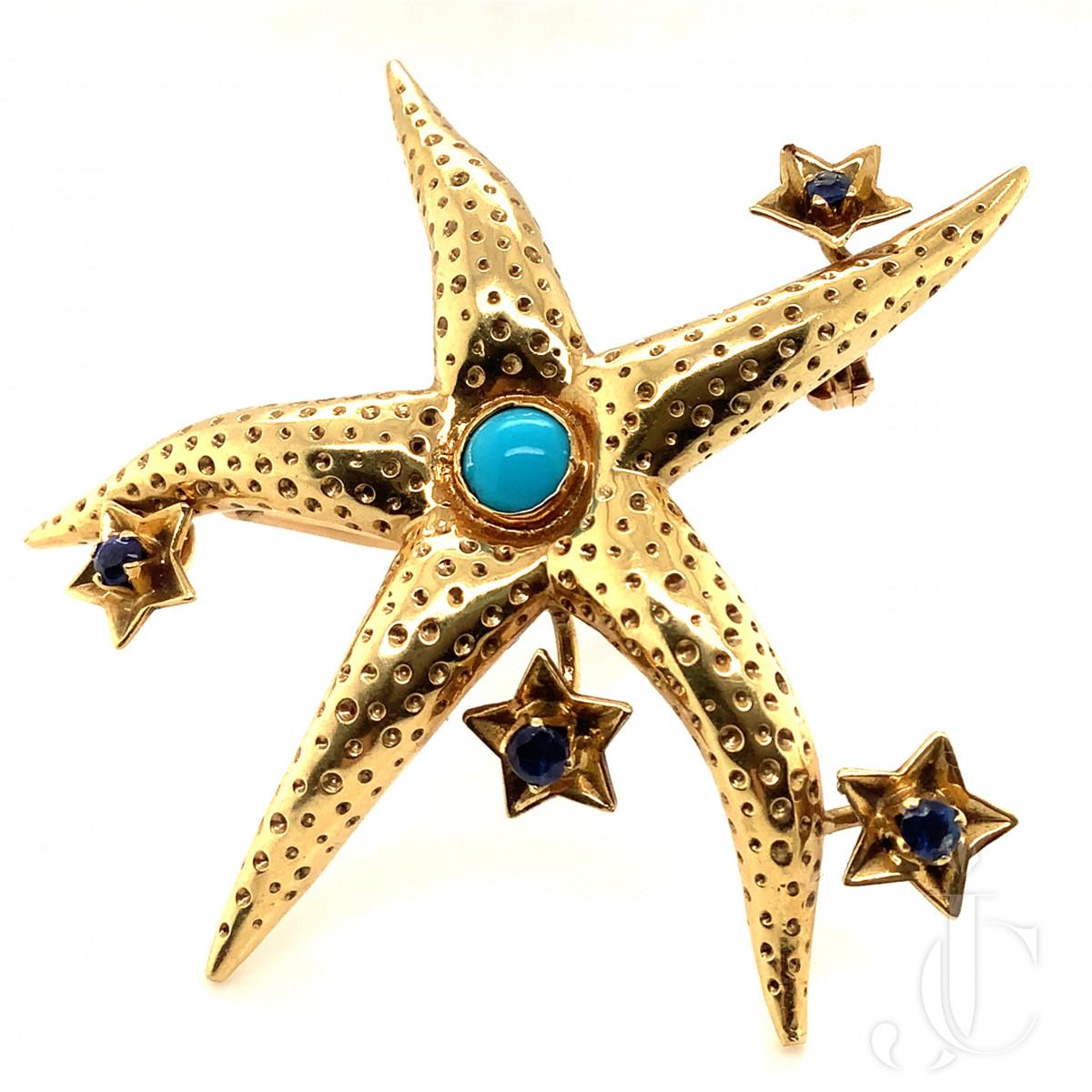 Tiffany Starfish Brooch
