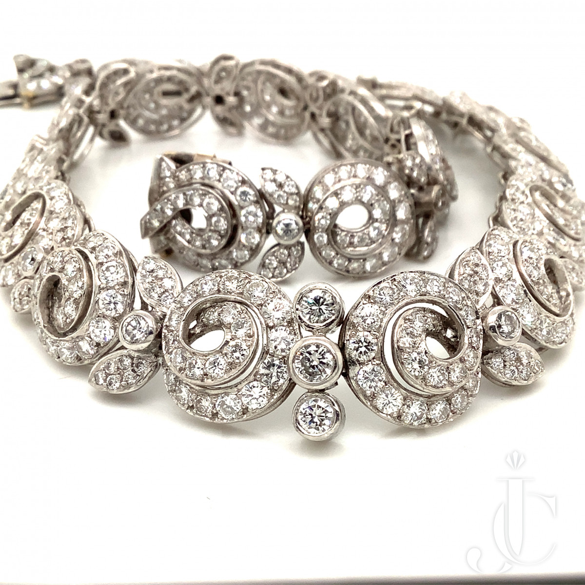 French Diamond Necklace