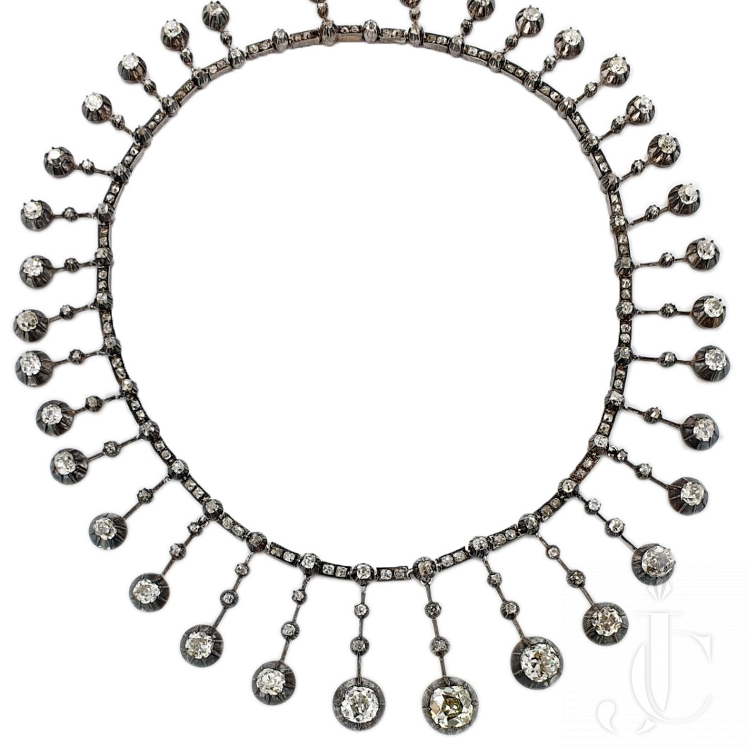 Victorian Old Mine Necklace