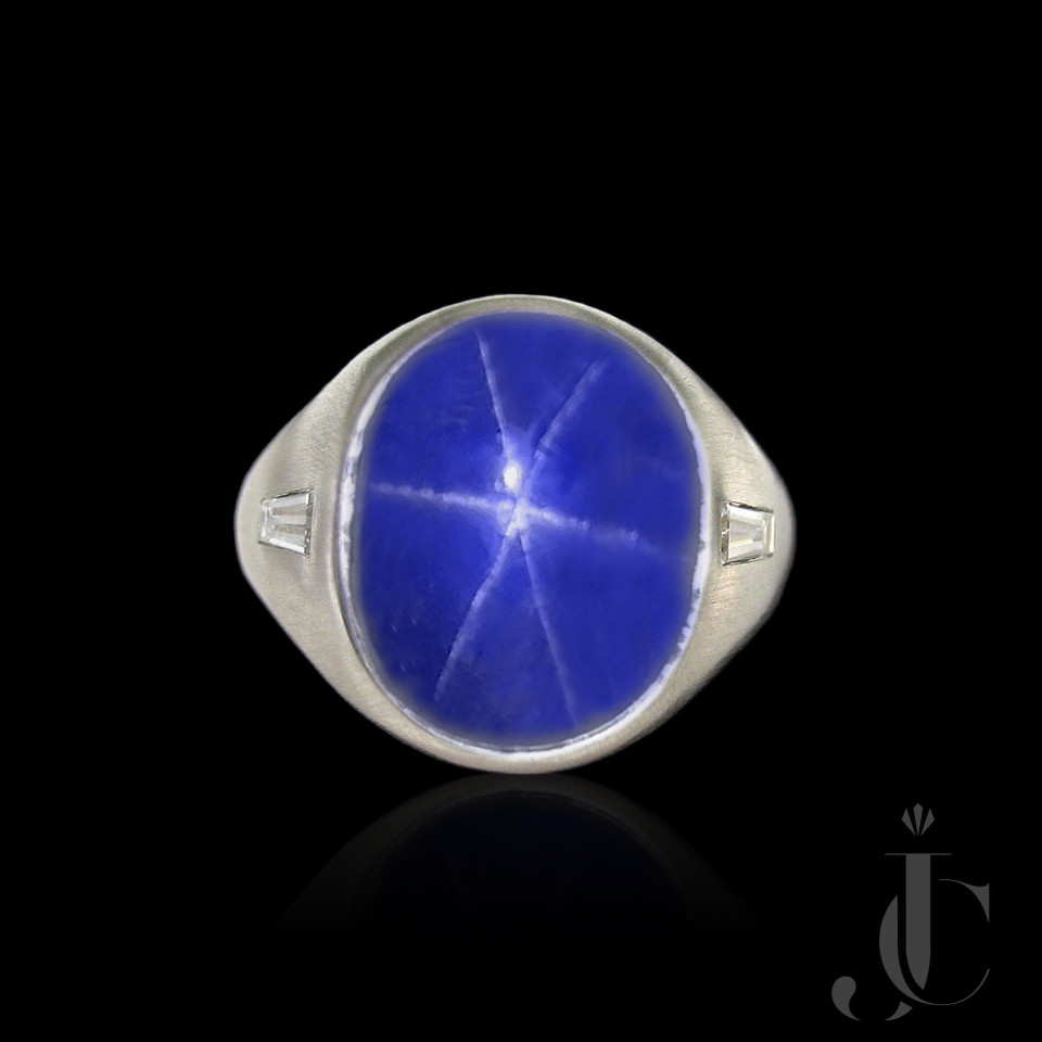 Star Sapphire 23.49 cts - NTE Natural - no heat