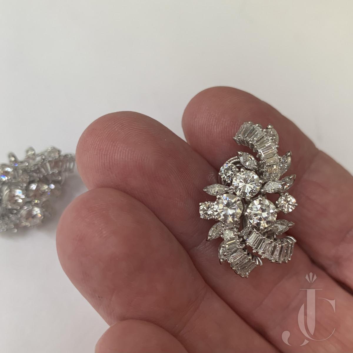 Bvlgari Diamond Earrings
