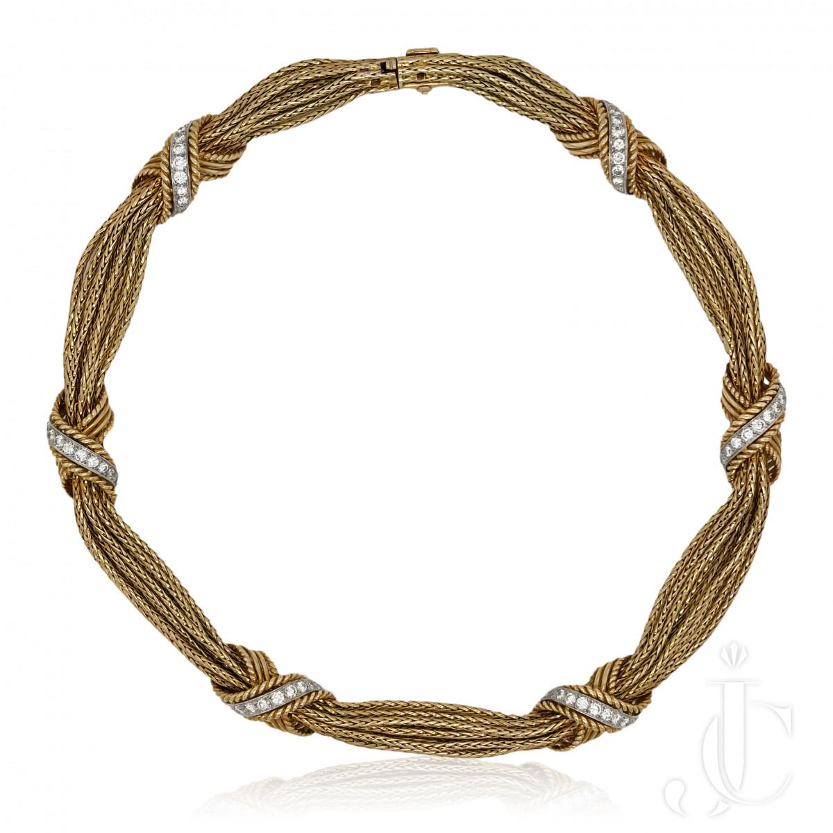Vacheron & Constantin 18kt Diamond Necklace