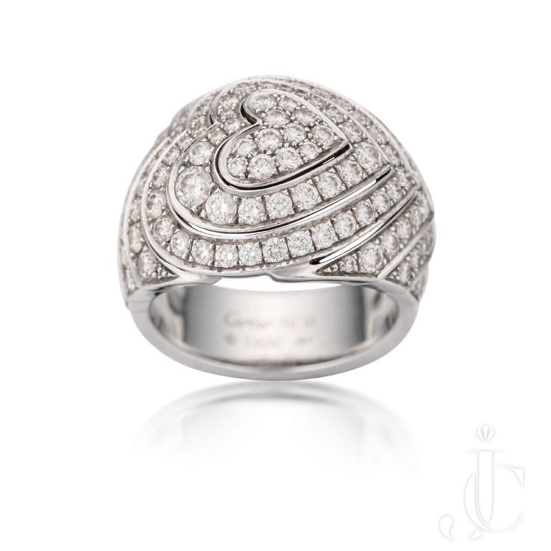 Modern Cartier domed ring