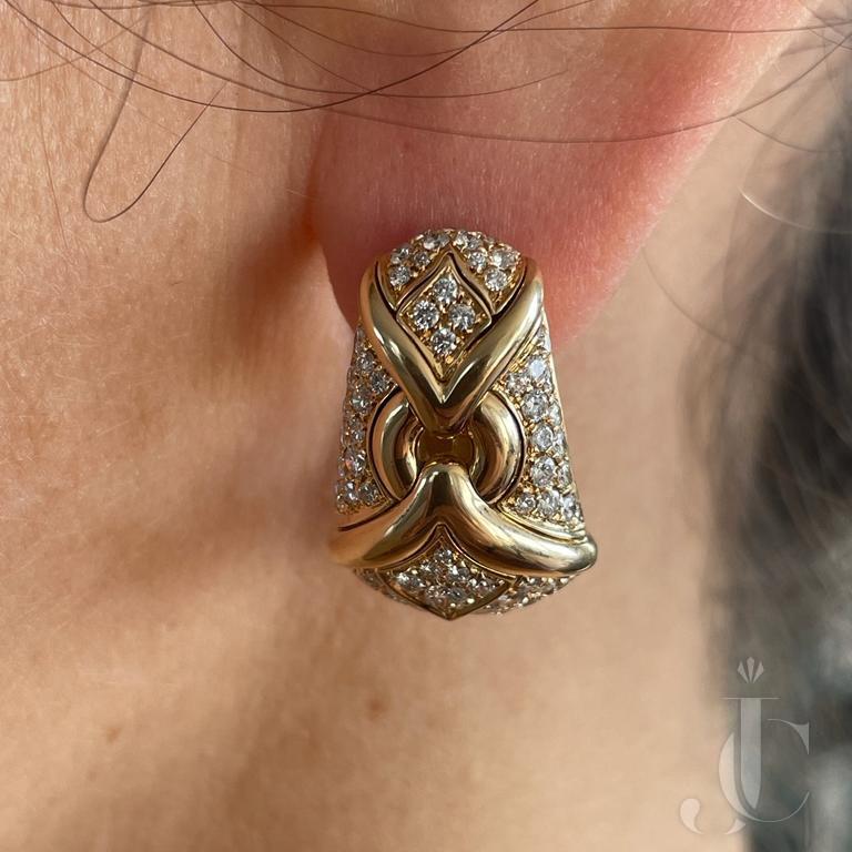 BULGARI Trika ear clips