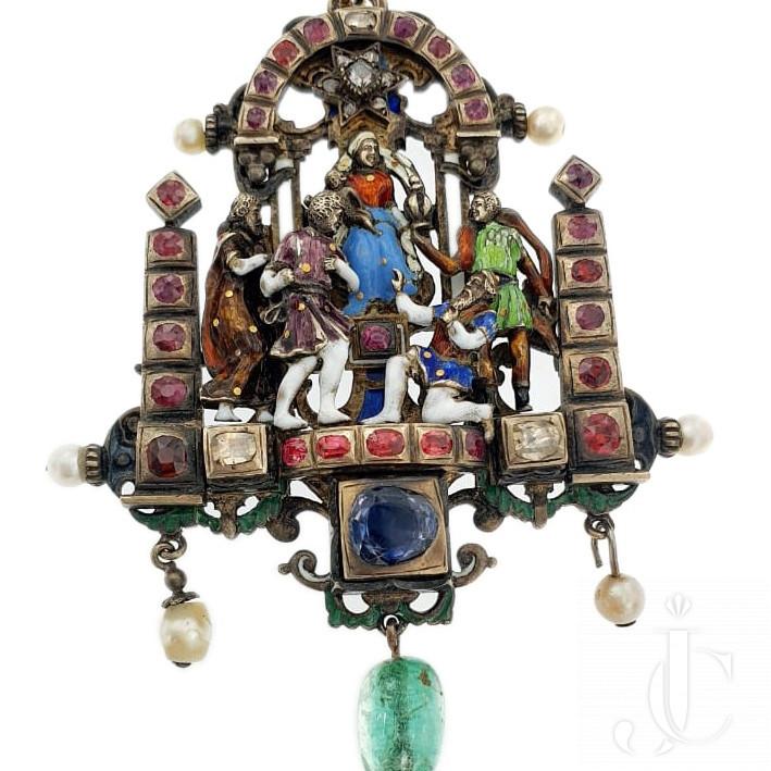 Adoration Of The Magi Pendant